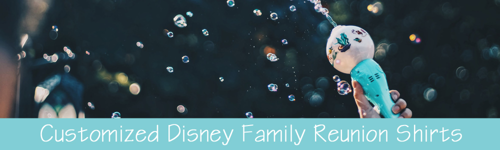 Customized Disney Family Reunion Shirts